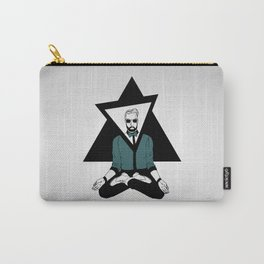 The meditator hipster Carry-All Pouch