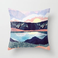 Lake Reflection Throw Pillow