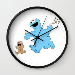 Well, he better be right. Wall Clock