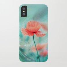 Fantasy Garden - Poppy Dream  Slim Case iPhone X