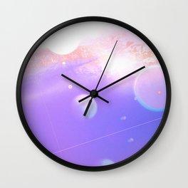 Parallel planets, horizon Wall Clock