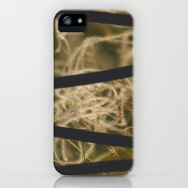mysterious deliberate iPhone Case