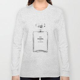 Fashion illustration sketch Long Sleeve T-shirt