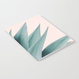 Agave flare II - peach Notebook