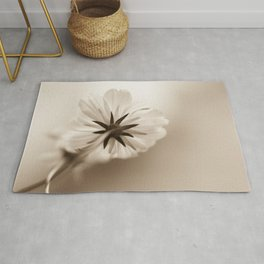 Dreams Softly - Flower Photography Rug