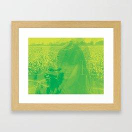 Catpower Framed Art Print