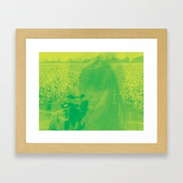 Catpower Framed Art Print