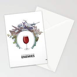 #4 In the Presence of My Enemies Stationery Cards