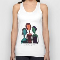 polkadot Tank Tops featuring Polkadot gurlz by Giang Di Penguin