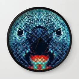Koala - Colorful Animals Wall Clock