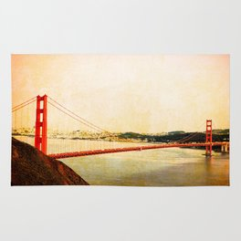 GOLDEN GATE BRIDGE - SAN FRANCISCO Rug
