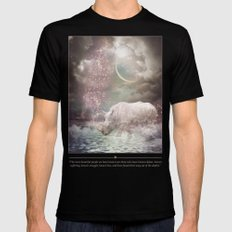 The Most Beautiful Have Known Defeat, Suffering, Struggle... (Rhino Dreams)  Mens Fitted Tee Black MEDIUM