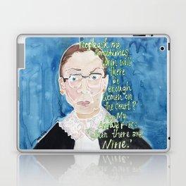 Ruth Bader Ginsberg Laptop & iPad Skin