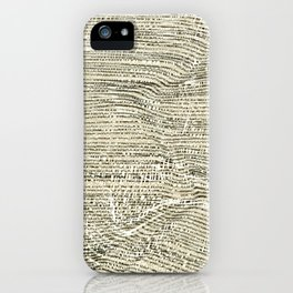 Raw lines on the move  background iPhone Case