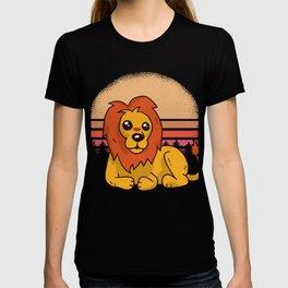 Lion Wilderness Africa T-shirt