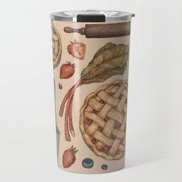 Pie Baking Collection Travel Mug