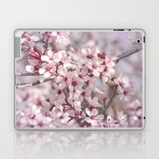 Icy Pink Blossoms - In Memory of Mackenzie Laptop & iPad Skin