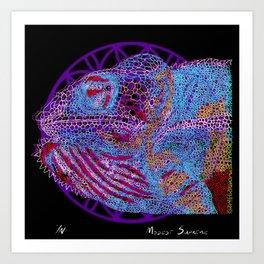Agemoleon Art Print