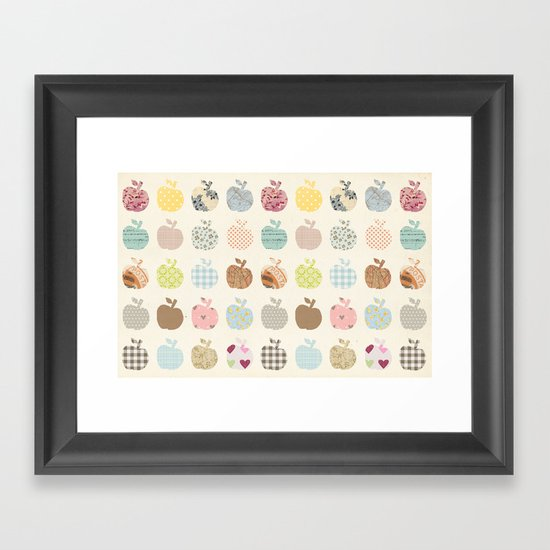 apples galore Framed Art Print