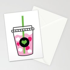 Pink Drink Stationery Cards
