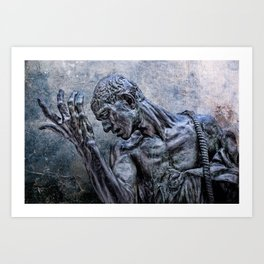 Lord, have mercy! Art Print