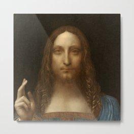 Price Slashed on 450M Leonardo da Vinci Salvator Mundi Metal Print