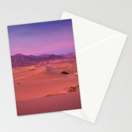 Mesquite Dunes Sunset Stationery Cards