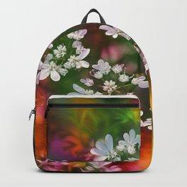Floral Splash Backpack