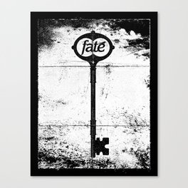 Fate Canvas Print
