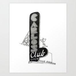 Carlos Club Art Print