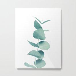 Eucalyptus Green Vibes #1 #foliage #decor #art #society6 Metal Print