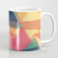 be happy Mugs featuring Happy by VessDSign
