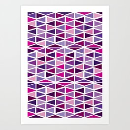 see shapes Art Print
