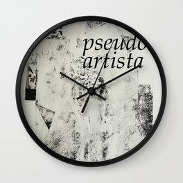 PSEUDOARTISTA Wall Clock