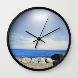 Beauty In The Distance Wall Clock