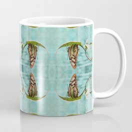Upside Down Butterfly Coffee Mug