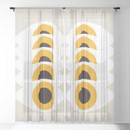 EYES_POP_ART_03 Sheer Curtain