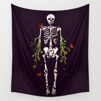 dead Wall Tapestries featuring Dead is dead by Picomodi