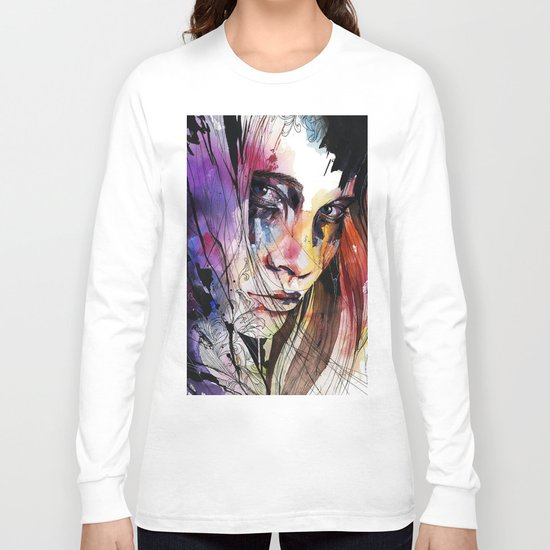 Eyes speak every language there is Long Sleeve T-shirt