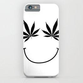 get high on life,natiural herb,Marijuana Botanical , Marijuana Botanical  iPhone Case