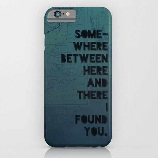 Here & There II iPhone & iPod Case