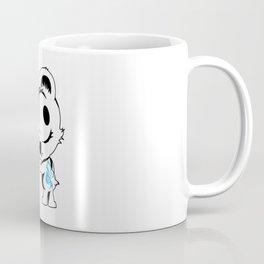 Tank the Teddy Black & Blue Coffee Mug