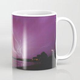 Lightning Storm at Sunset Coffee Mug