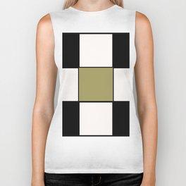Team Colors ,,,,black white , gold Biker Tank