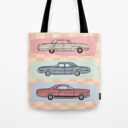 Motor Style Inc.: 60s American Heavy Metal Tote Bag