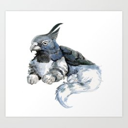 Little Gryphon Art Print