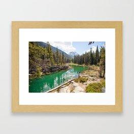Horseshoe Lake  Framed Art Print