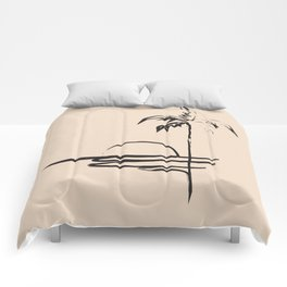 Abstract Landscpe Comforters