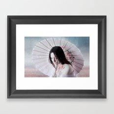 Slowsnow Framed Art Print