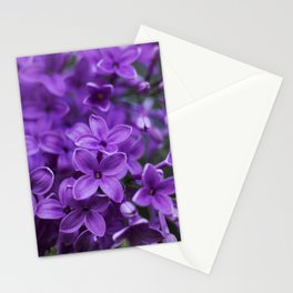 Lilac in Bloom Stationery Cards